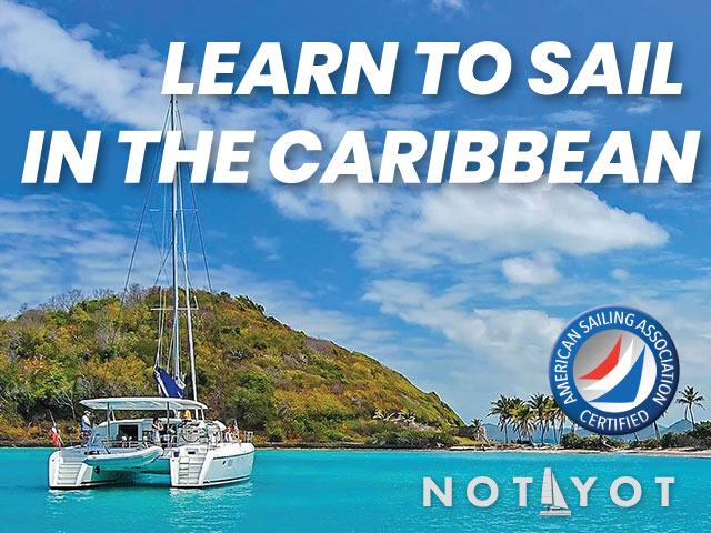 Learn to sail in the Caribbean