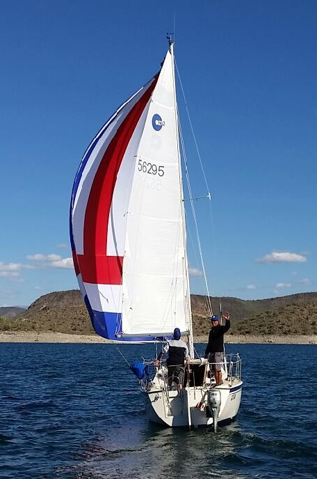 Sailing Lessons and Sailboat Rentals on Lake Pleasant