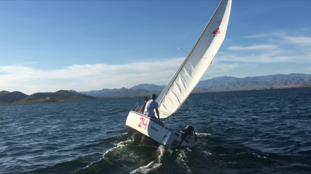 rent a sailboat on lake pleasant learn to sail in arizona gosail
