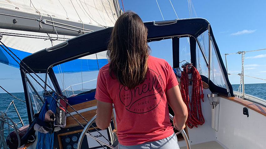 Woman at the helm of Defiance